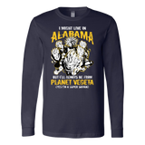 Super Saiyan Alabama Long Sleeve T shirt - TL00088LS