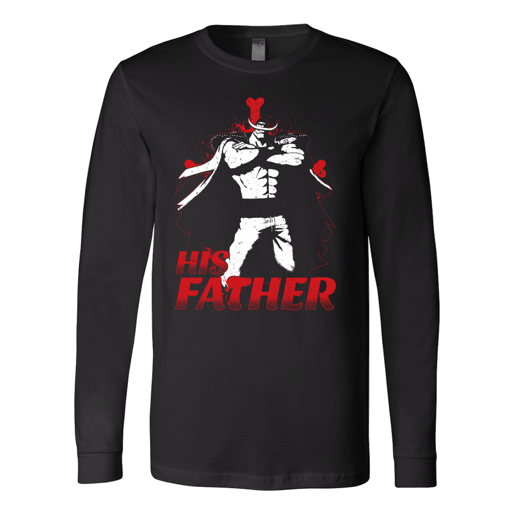 ea13c649 One Piece White Beard Father and Son Long Sleeve T shirt - TL00515LS ...