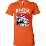 Super Saiyan Tennessee Grown Saiyan Roots Woman Short Sleeve T Shirt - TL00148WS