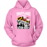 Super Saiyan Maryland Growns Saiyan Roots Unisex Hoodie T shirt - TL00160HO
