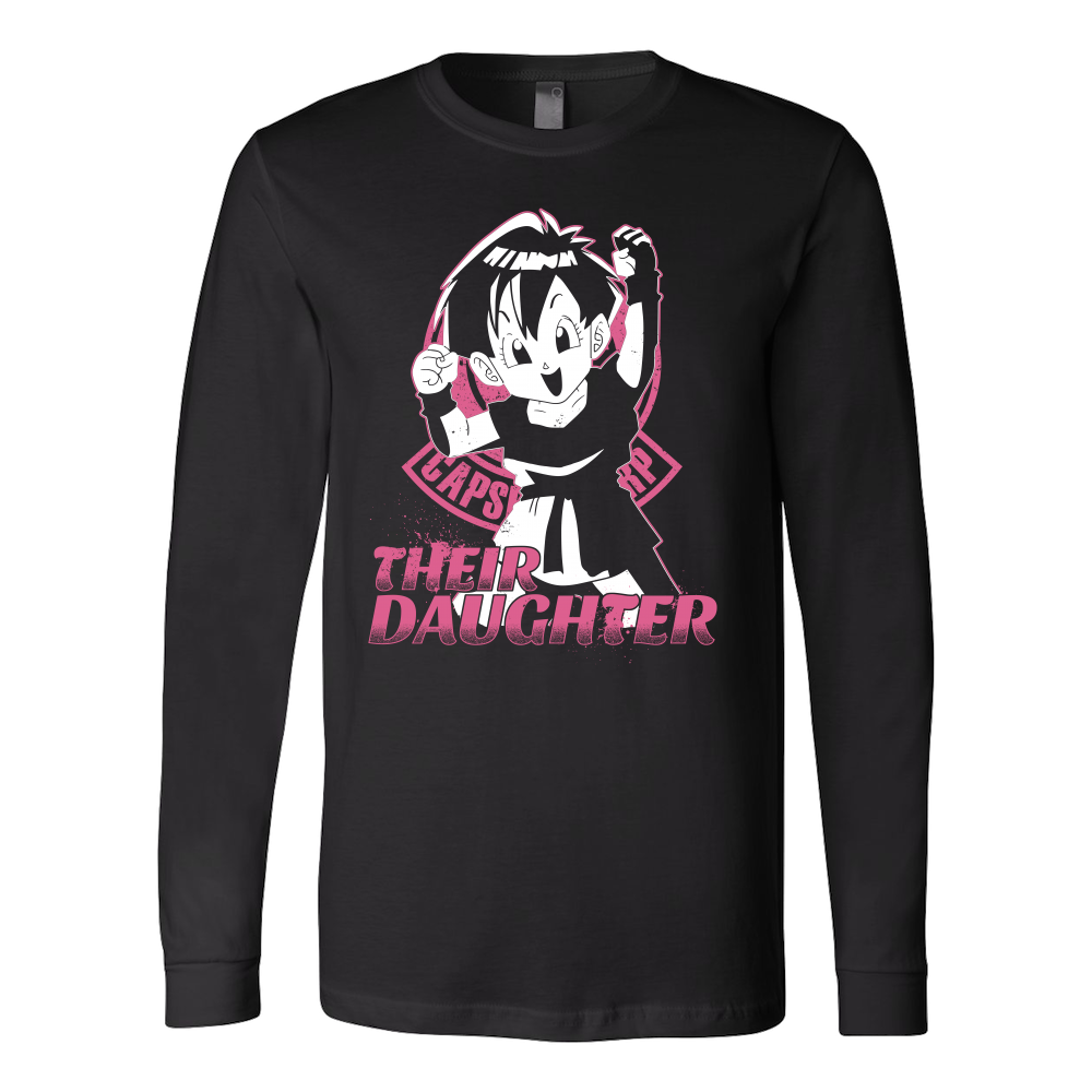 Super Saiyan Pan Daughter Long Sleeve T shirt - TL00506LS