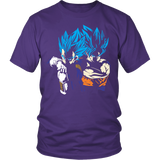 Super Saiyan - RIVALS OR VEGETA AND GOKU -Men Short Sleeve T Shirt - TL01375SS