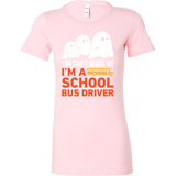 Halloween - You can't scare me i'm a school bus driver - Women Short Sleeve T Shirt - TL00722WS