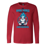 Super Saiyan Vegeta God Fair Otherwise Long Sleeve T shirt - TL00552LS