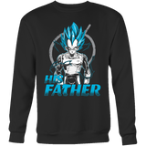 Super Saiyan Vegeta God Dad Sweatshirt T Shirt - TL00488SW
