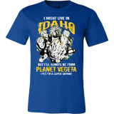 Super Saiyan Idaho Men Short Sleeve T Shirt - TL00101SS