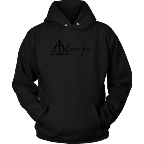 Harry Potter - Always - Unisex Hoodie T Shirt - TL01349HO