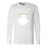 Halloween - im here for the booz - Men Long Sleeve T Shirt - TL00723LS