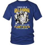 Super Saiyan - Oklahoma - Men Short Sleeve T Shirt - TL00084SS