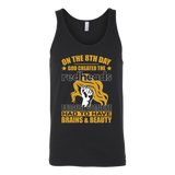 Hobbies - on the 8th day god created the redheads 2 - unisex tank top t shirt - TL00832TT