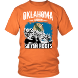Super Saiyan - Oklahoma Grown Saiyan Roots - Men Short Sleeve T Shirt - TL00153SS