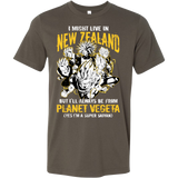 Super Saiyan I May Live in New Zealand Men Short Sleeve T Shirt - TL00109SS