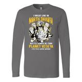 Super Saiyan North Dakota Group Long Sleeve T shirt - TL00104LS