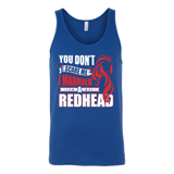 Hobbies - you dont scare me i married a redhead 2 - unisex tank top t shirt - TL00837TT