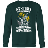 Super Saiyan Gohan Silent for Ignorance Sweatshirt T Shirt - TL00448SW