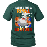 Super saiyan  - I asked for rival i got my brother - Short Sleeve T Shirt - TL01378SS