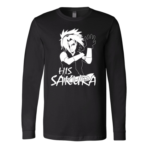 Naruto - His Sakura - Unisex Long Sleeve T Shirt - TL01132LS
