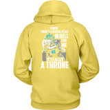 Super Saiyan Vegeta God Blue stay on throne Unisex Hoodie T shirt- TL00237HO