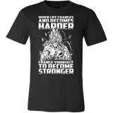 Super Saiyan Bardock become stronger Men Short Sleeve T Shirt - TL00475SS