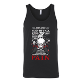 Naruto Paint Learn Unisex Tank Top T Shirt - TL00264TT