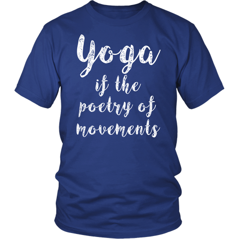 Yoga - Yoga if the poetry of movements - Men Short Sleeve T Shirt - TL00894SS