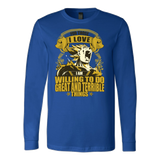 Super Saiyan Majin Vegeta can do great and terrible things Long Sleeve T shirt - TL00556LS