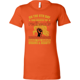 Hobbies - on the 8th day god created the redheads - women short sleeve t shirt - TL00833WS