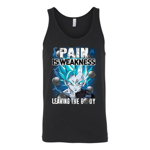 Super Saiyan - Pain sweakness leaving the body - Unisex Tank Top - TL01370TT