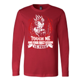 Super Saiyan Majin Vegeta Firt Lesson Long Sleeve T shirt - TL00130LS