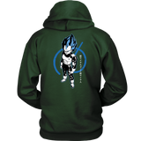 Super Saiyan Blue Vegeta God Unisex Hoodie T shirt - TL00016HO