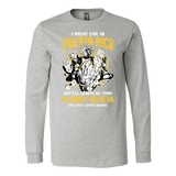 Super Saiyan Puerto Rico Long Sleeve T shirt - TL00066LS