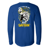 Super Saiyan Goku Dragon Fist Long Sleeve T shirt - TL00036LS