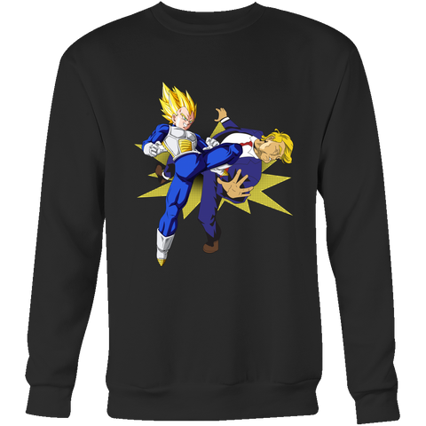 Super Saiyan - VEGETA BEAT TRUMP - Unisex Sweatshirt T Shirt - TL01224SW