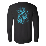 Super Saiyan - Saiyan SS Blue - Unisex Long Sleeve T Shirt - TL00896LS