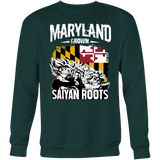 Super Saiyan Maryland Growns Saiyan Roots Sweatshirt T shirt - TL00160SW