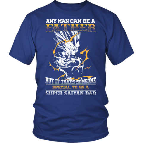 Super Saiyan - It takes someone special to be a super saiyan dad - Men Short Sleeve T Shirt - TL01352SS
