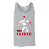 One Piece White Beard Father and Son Unisex Tank Top T Shirt - TL00515TT