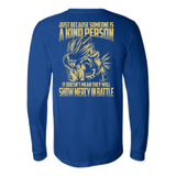 Super Saiyan Gohan Show Mercy in Battle Long Sleeve T shirt - TL00446LS