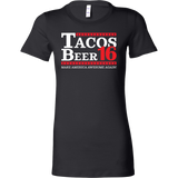Taco mexican beer 16 Woman Short Sleeve Funny T Shirt - TL00610WS