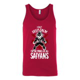 Super Saiyan Vegeta I Can't Keep Calm Unisex Tank Top T Shirt - TL00058TT
