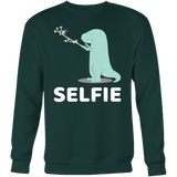 Dinosaur - Selfie - Sweatshirt T Shirt - TL00860SW - The TShirt Collection