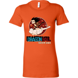 Super Saiyan Goku Woman Short Sleeve T Shirt - TL00252WS