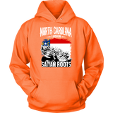 Super Saiyan North Carolina Grown Saiyan Roots Hoodie Shirt - FOR NORTH CAROLINA FANS - TL00149HO