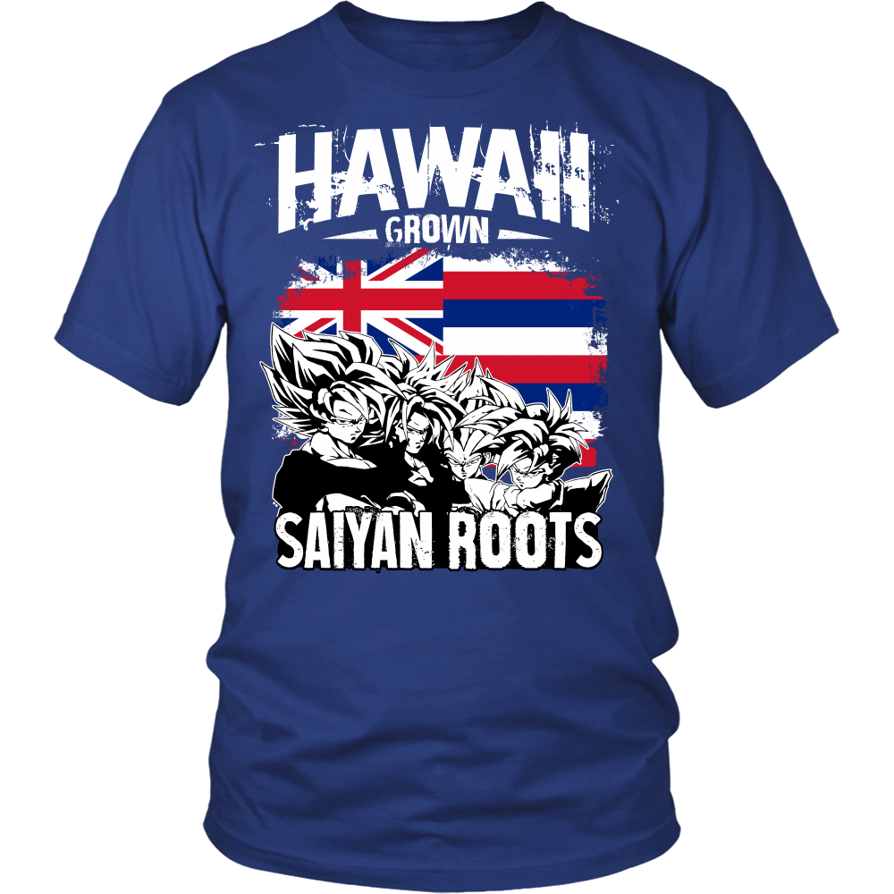 Super Saiyan - Hawaii Grown Saiyan Roots - Men Short Sleeve T Shirt - TL00165SS