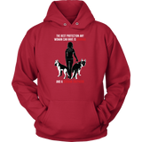 Pet - Courage and a German Shepherd - Unisex Hoodie T Shirt - TL00737HO