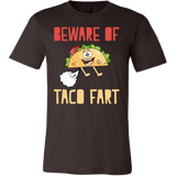 Taco mexican beware of taco fart Men Short Sleeve Funny T Shirt - TL00577SS