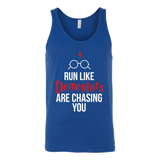 Harry Potter - run like dementors are chasing you - unisex tank top t shirt - TL00964TT