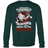 Super Saiyan Goku and Vegeta Prince Sweatshirt T shirt - TL00028SW