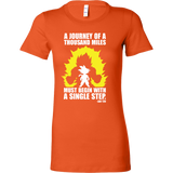 Super Saiyan - A Journey of A Thousand Miles - Woman Short Sleeve T Shirt - TL01185WS