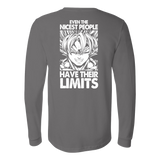 Super Saiyan Goku Limits Long Sleeve T shirt - TL00040LS